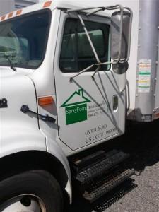 our sprayer truck